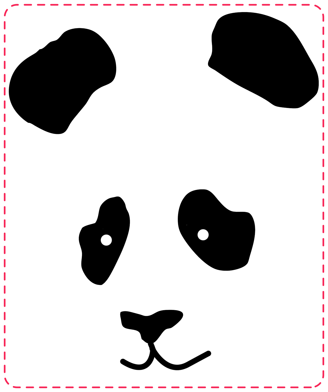 Camiseta pintada con panda missdiy - Plantillas para pintar camisetas ...