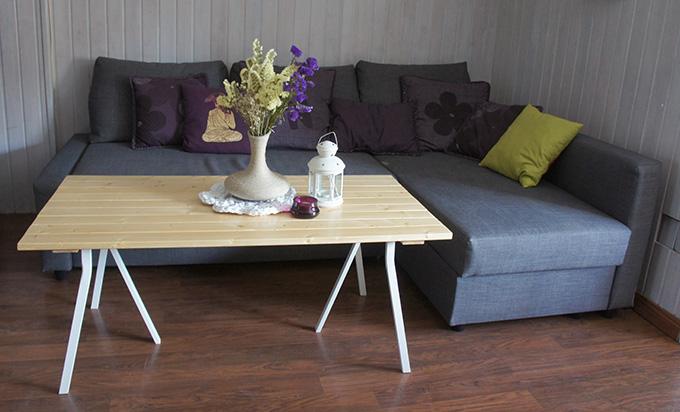 Diy decoraci n mesa de centro de madera missdiy - Listones madera leroy merlin ...