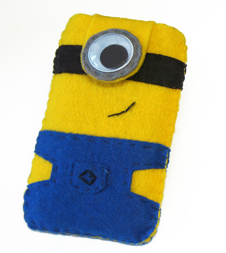Funda del movil minion