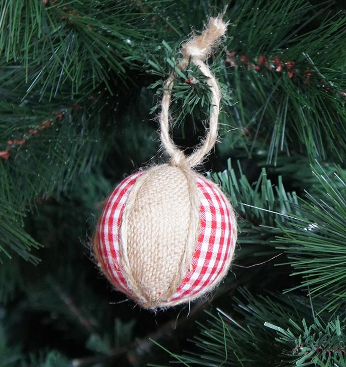 bola de navidad diy