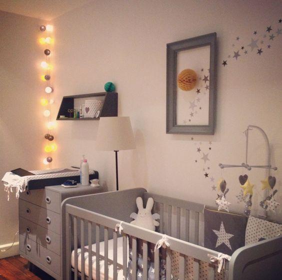 Habitaciones de beb en color gris missdiy - Habitaciones color gris ...