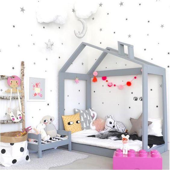 Habitaciones de beb en color gris missdiy for Habitacion bebe moderna