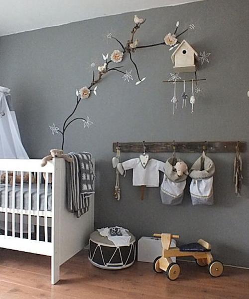 Habitaciones de bebé en color gris - MissDIY