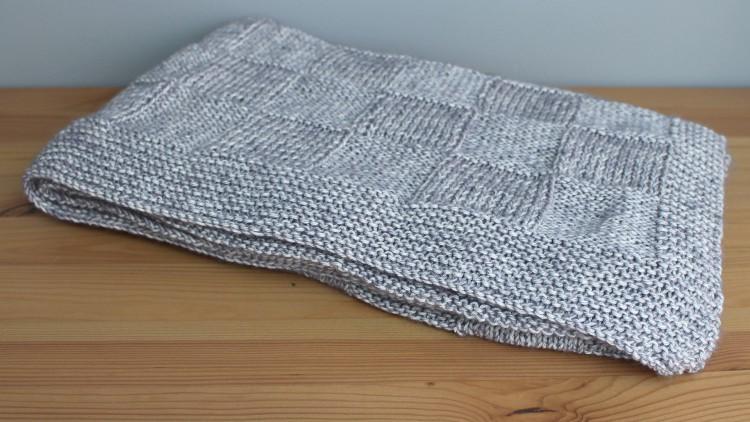 Manta para bebé de lana