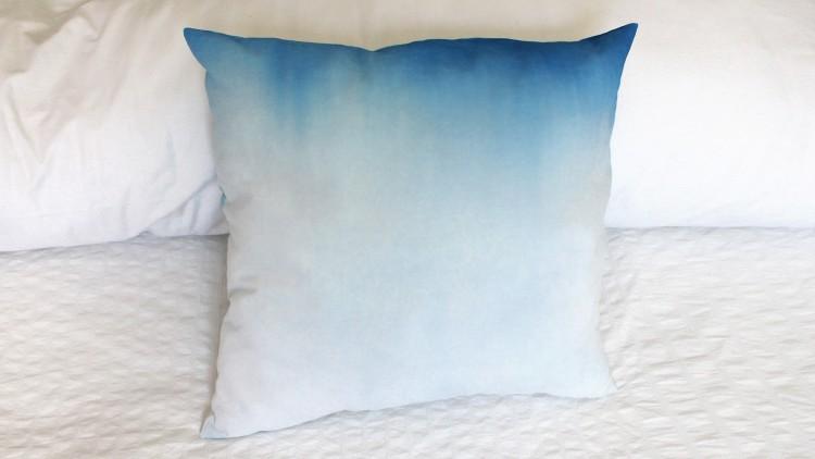 Pintura textil en degradado