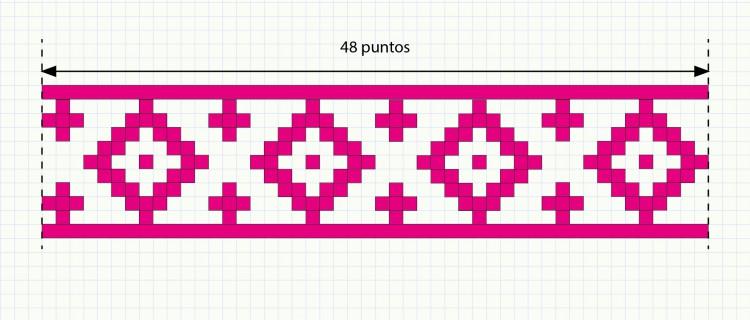 patrón tapestry cesto con tapa