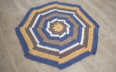 Patrón Alfombra Kaleidoscopic